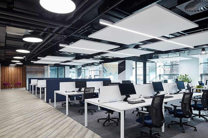 Светодиодное освещение Офис международной компании