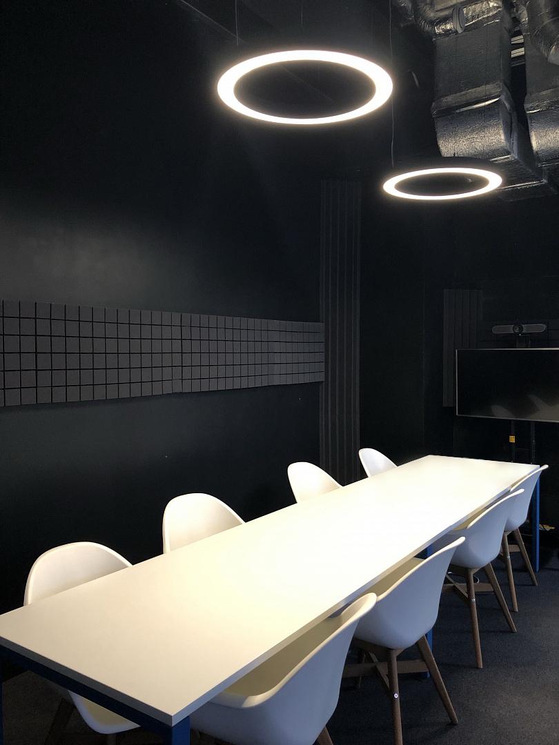 Светодиодное освещение Офис IT компании